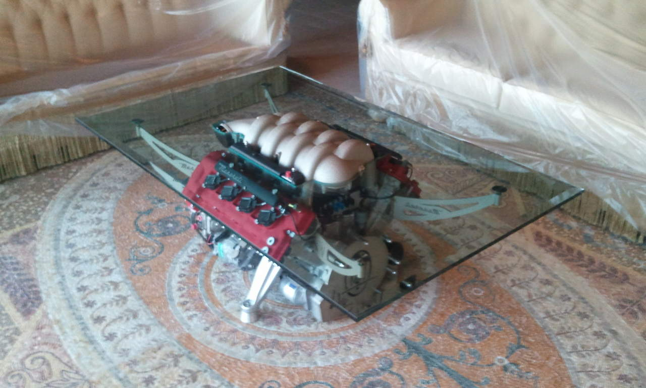 Click image for larger version Name: 2010-12-13 17.19.18. - Maserati Engine Coffee Table!! - Maserati Forum