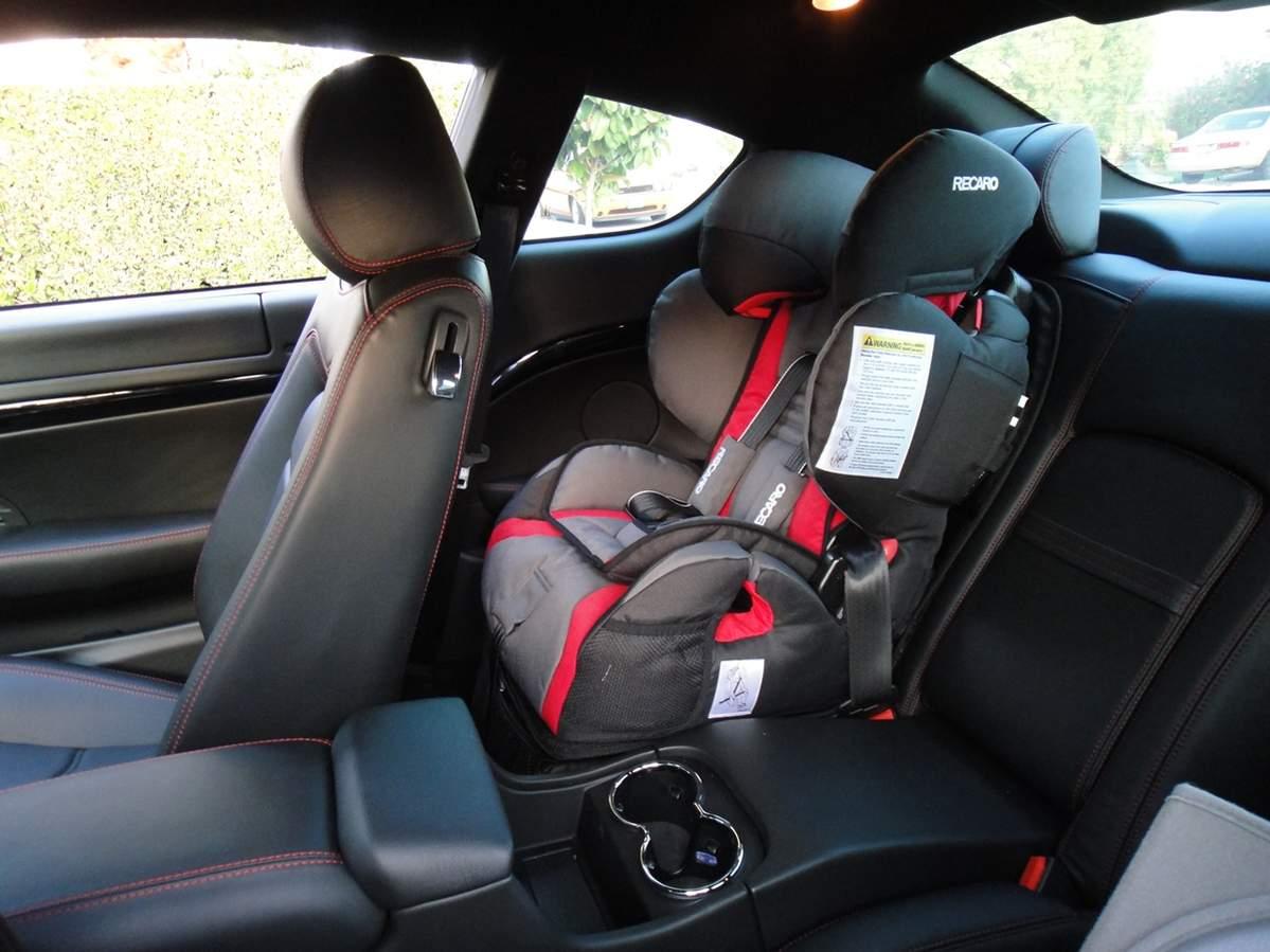 Kids Car Seat Clek Foonf Installed Maserati Forum
