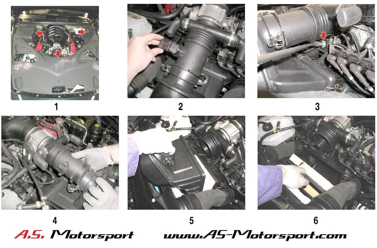 diy: air filter change (qp) - maserati forum