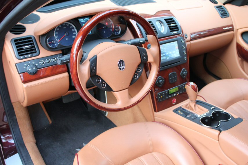 Fs 2007 quattroporte executive gt with kenwood touchscreen click image for larger version name img0280g views 3805 size 1074 sciox Choice Image