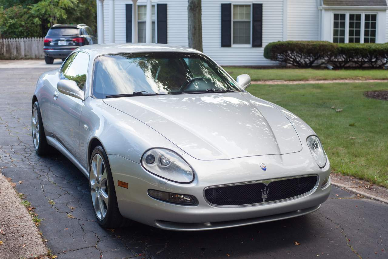 2003 Maserati Coupe Gt 6 Speed Manual Silver Red For