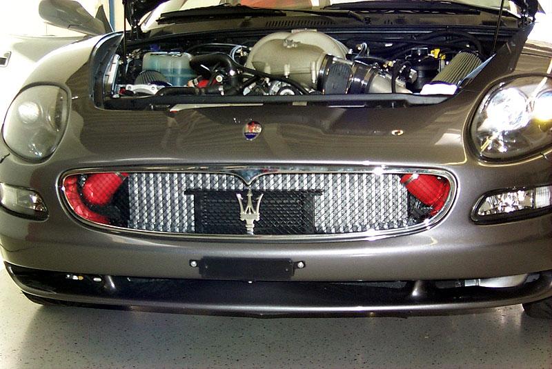 Maserati turbo kit