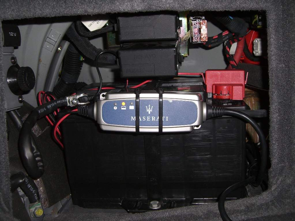 Attaching Car Battery