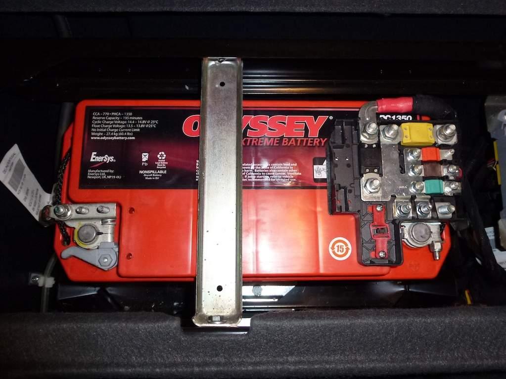 Car Battery Terminal Thread Size