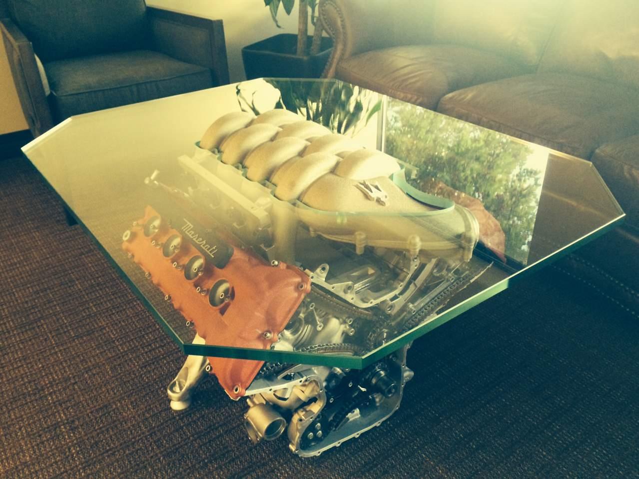 Maserati Engine Coffee Table Maserati Forum
