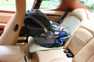 Maserati baby car seat