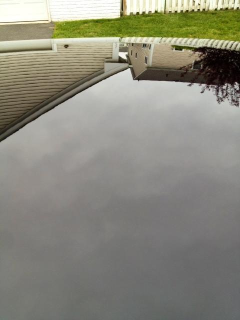 Photos of Pinnacle Wax on Black Maserati.-roof-outside.jpg