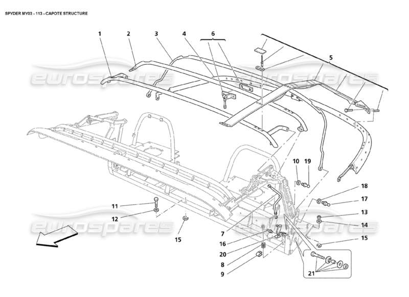 2004 chrysler crossfire exhaust diagram